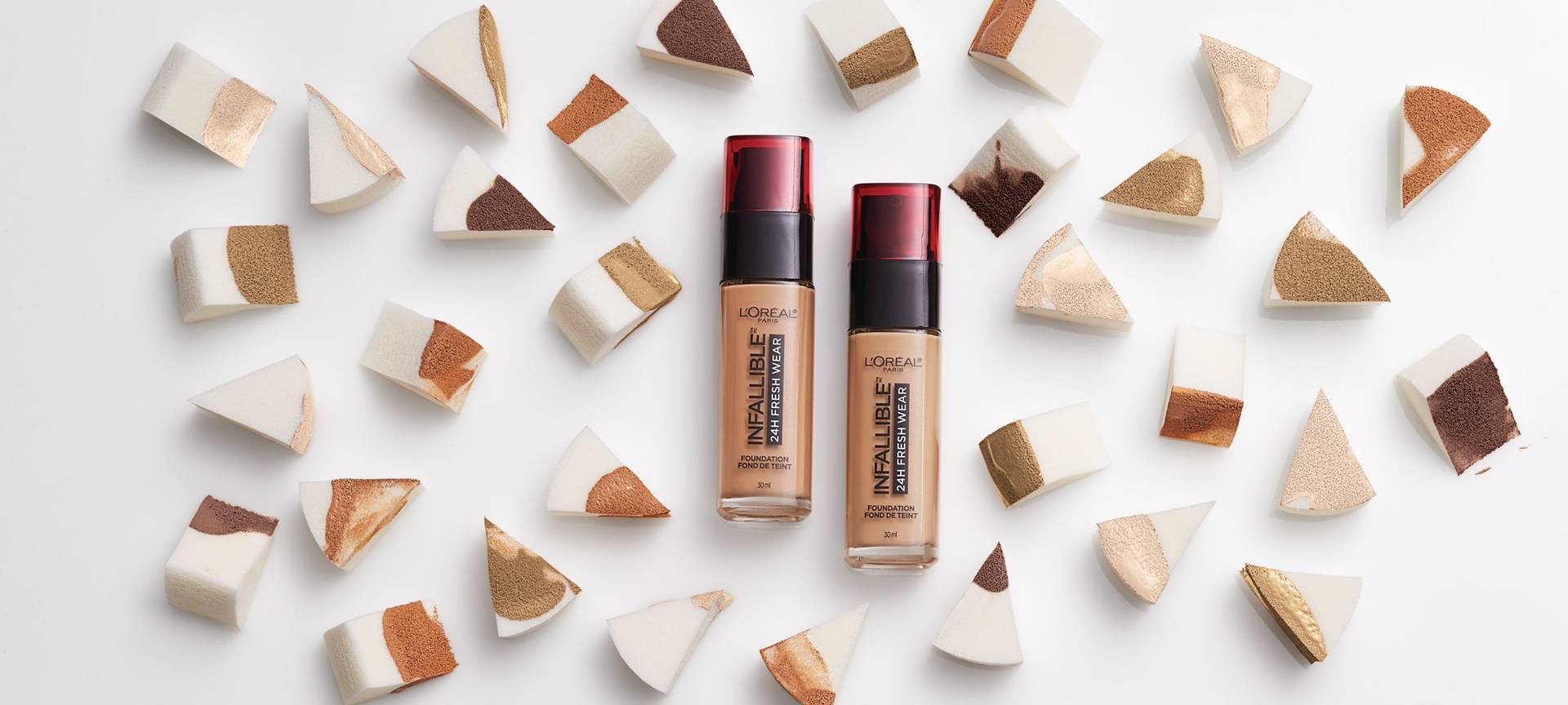 Infallible 24hr Fresh Wear Foundation Swatches And How To Find The Right Shade For Your Skin Tone L Oreal Paris